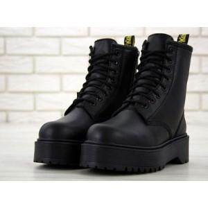 черевики dr. martens mono black