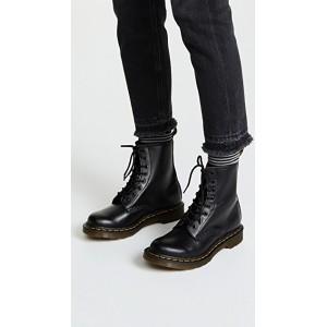 черевики martens  black лакові
