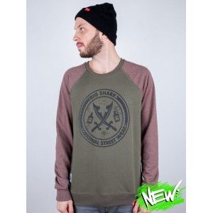Світшот Big Shark Swords Original Brown Khaki