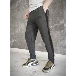 Спортивні штани Big Shark - Lampas, Grey/Black тонкі